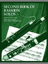 Hilling L / Bergmann W - Second Book Of Bassoon Solos (complete) - Bassoon And Piano