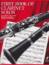 Davies, Reade - The First Book Of Clarinet Solos