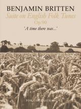 Britten Benjamin - Suite On English Folk Tunes - Score