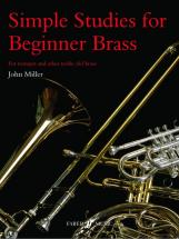 Miller John - Simple Studies For Beginner - Brass