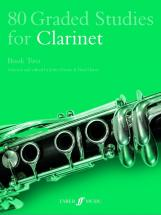 Davies J / Harris P - 80 Graded Studies For Clarinet Book 2 - Clarinet