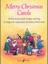 Waterman Fanny - Merry Christmas Carols - Piano