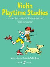 De Keyser Paul - Violin Playtime Studies (solo Violin) - Violin Teaching