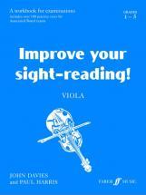 Davies J / Harris P - Improve Your Sight-reading! Grade 1-5 - Viola