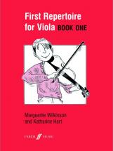 Wilkinson M / Hart K - First Repertoire For Viola Book 1 - Viola And Piano