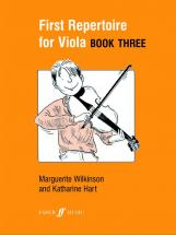 Wilkinson M / Hart K - First Repertoire For Viola Book 3 - Viola And Piano