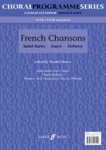 Brown Tim  - French Chansons - Mixed Voices Satb (par 10 Minimum)