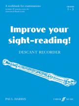 Harris Paul - Improve Your Sight-reading! Grade 1-3 - Recorder