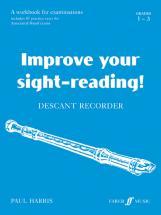 Harris Paul - Improve Your Sight-reading! Grade 1-3 - Recorder