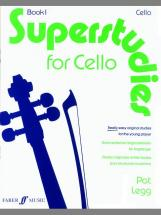 Legg Pat - Superstudies Vol.1 - Cello