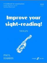 Harris Paul - Improve Your Sight-reading! Grade 1 - Violin