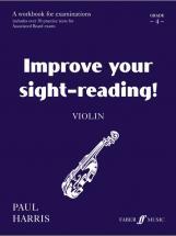 Harris Paul - Improve Your Sight-reading! Grade 4 - Violin