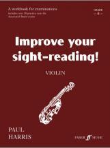 Harris Paul - Improve Your Sight-reading! Grade 5 - Violin