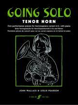Wallace/pearson - Going Solo - Tenor Horn