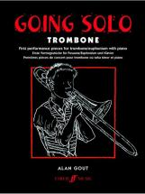 Gout Alan  - Going Solo - Trombone And Piano