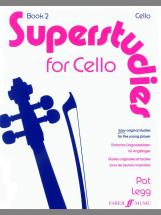 Legg Pat - Superstudies. Book 2 (cello) - Cello