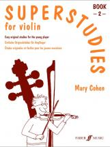 Cohen Mary - Superstudies - Book 2 - Violin