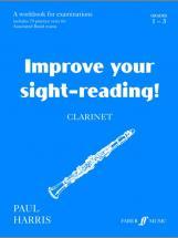 Harris Paul - Improve Your Sight-reading! Grade 1-3 - Clarinet