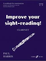 Harris Paul - Improve Your Sight-reading! Grade 4-5 - Clarinet