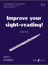 Harris Paul - Improve Your Sight-reading! Grade 4-5 - Flute