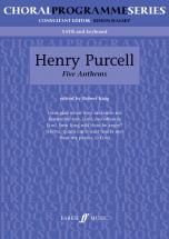 Purcell Henry - Five Anthems - Mixed Voices Satb (par 10 Minimum)