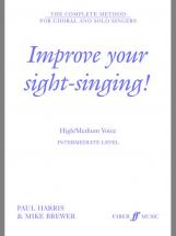 Harris P / Brewer M - Improve Your Sight-singing! - Intermediate High Or Medium Voice