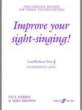 Harris P / Brewer M - Improve Your Sight-singing! - Low Or Medium Voice