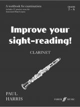 Harris Paul - Improve Your Sight-reading! Grade 7-8 - Clarinet