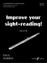 Harris Paul - Improve Your Sight-reading! Grade 7-8 - Flute