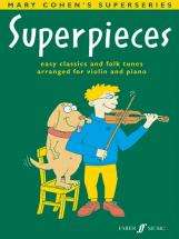 Cohen Mary - Superpieces Book 2 - Violin And Piano