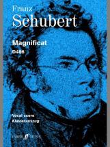 Schubert Franz - Magnificat  - Vocal Score (par 10 Minimum)
