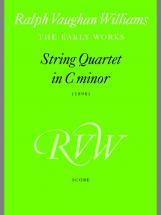 Vaughan Williams Ralph - String Quartet In C Minor  - String Quartet