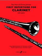 Harris P / Johnson E - First Repertoire - Clarinet And Piano
