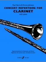 Harris P / Johnson E - Concert Repertoire - Clarinet And Piano