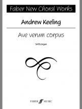 Keeling Andrew - Ave Verum Corpus - Choral Signature Series - Mixed Voices Satb (par 10 Minimum)