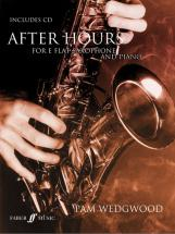 Wedgwood Pam - After Hours + Cd - Saxophone And Piano