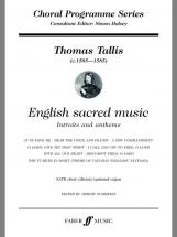 Tallis Thomas - English Sacred Music - Satb Choir (par 10 Minimum)