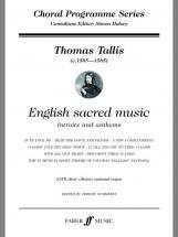 Tallis Thomas - English Sacred Music - Satb Choir (par 10 Minimum)