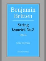 Britten Benjamin - String Quartet No.3 - String Quartet
