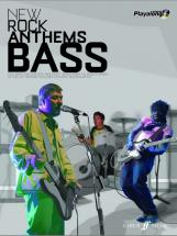 New Rock Anthems + Cd - Authentic Playalongs - Bass Tab