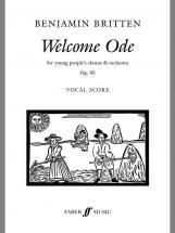 Britten Benjamin - Welcome Ode - Mixed Voices (par 10 Minimum)