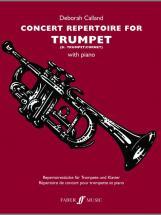 Calland Deborah - Concert Repertoire For Trumpet - Trumpet And Piano