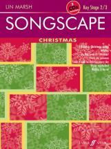 Marsh Lin - Songscape: Christmas  + 2cds - Classroom Materials