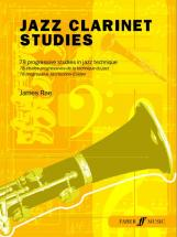 Rae James - Jazz Clarinet Studies - Clarinet