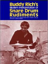 Rich Buddy - Snare Drum Rudiments - Drum