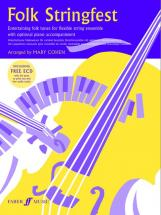Cohen Mary  - Folk Stringfest + Cd  - String Quartet/ensemble (easy)