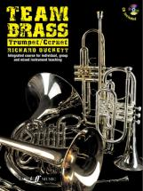 Duckett Richard - Team Brass + Cd - Trumpet