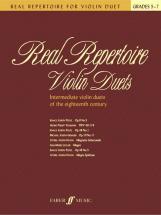 Cohen Mary  - Real Repertoire Violin Duets - Violin Ensemble