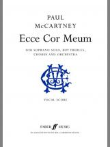 Mccartney Paul - Ecce Cor Meum  - Vocal Score
