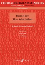 Goodall Howard  - Danny Boy (3 Irish Ballads) - Mixed Voices Satb (par 10 Minimum)